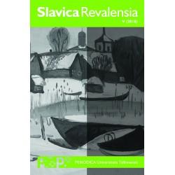 Slavica Revalensia V (2018)