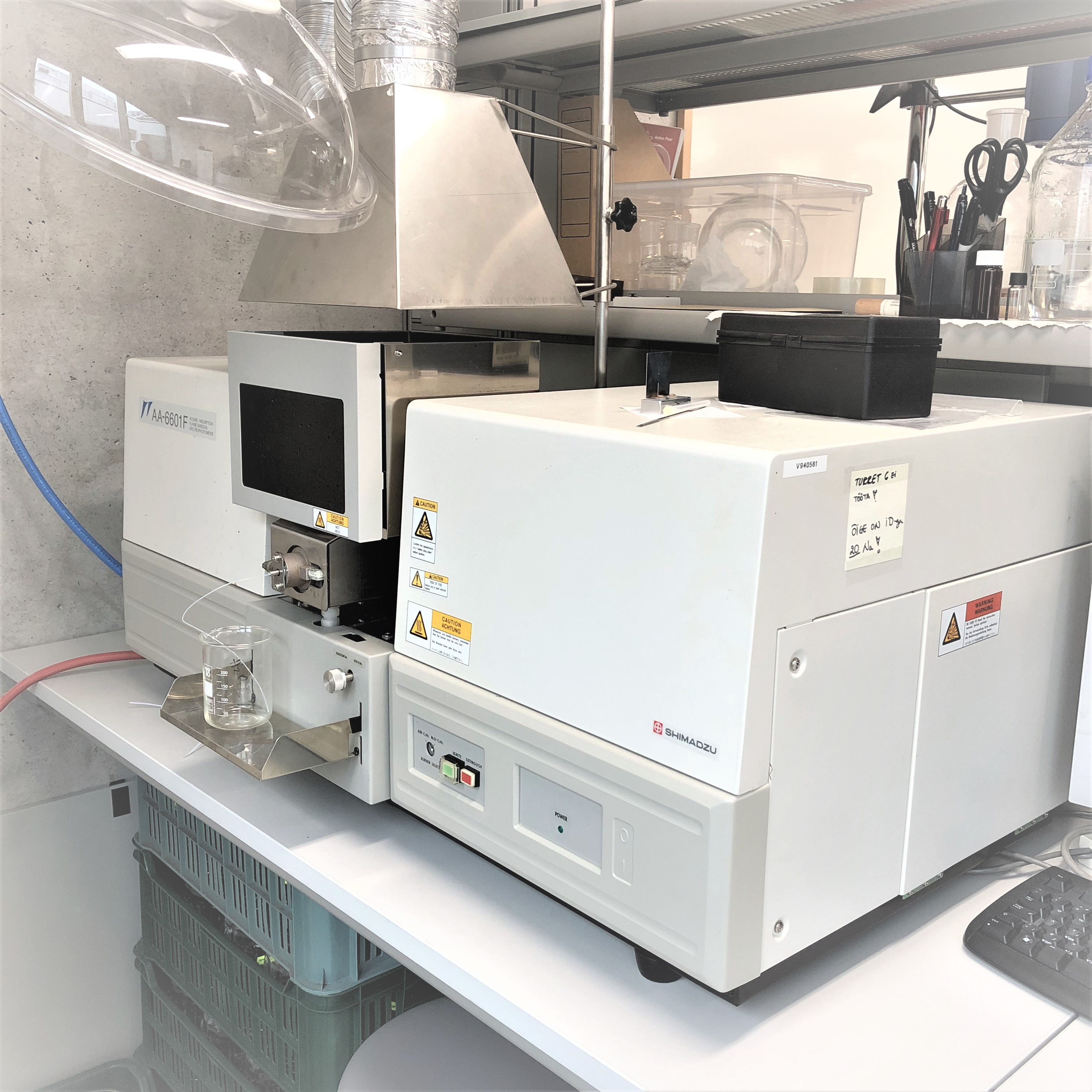 Important Scientific Instruments of the Laboratory of Molecular