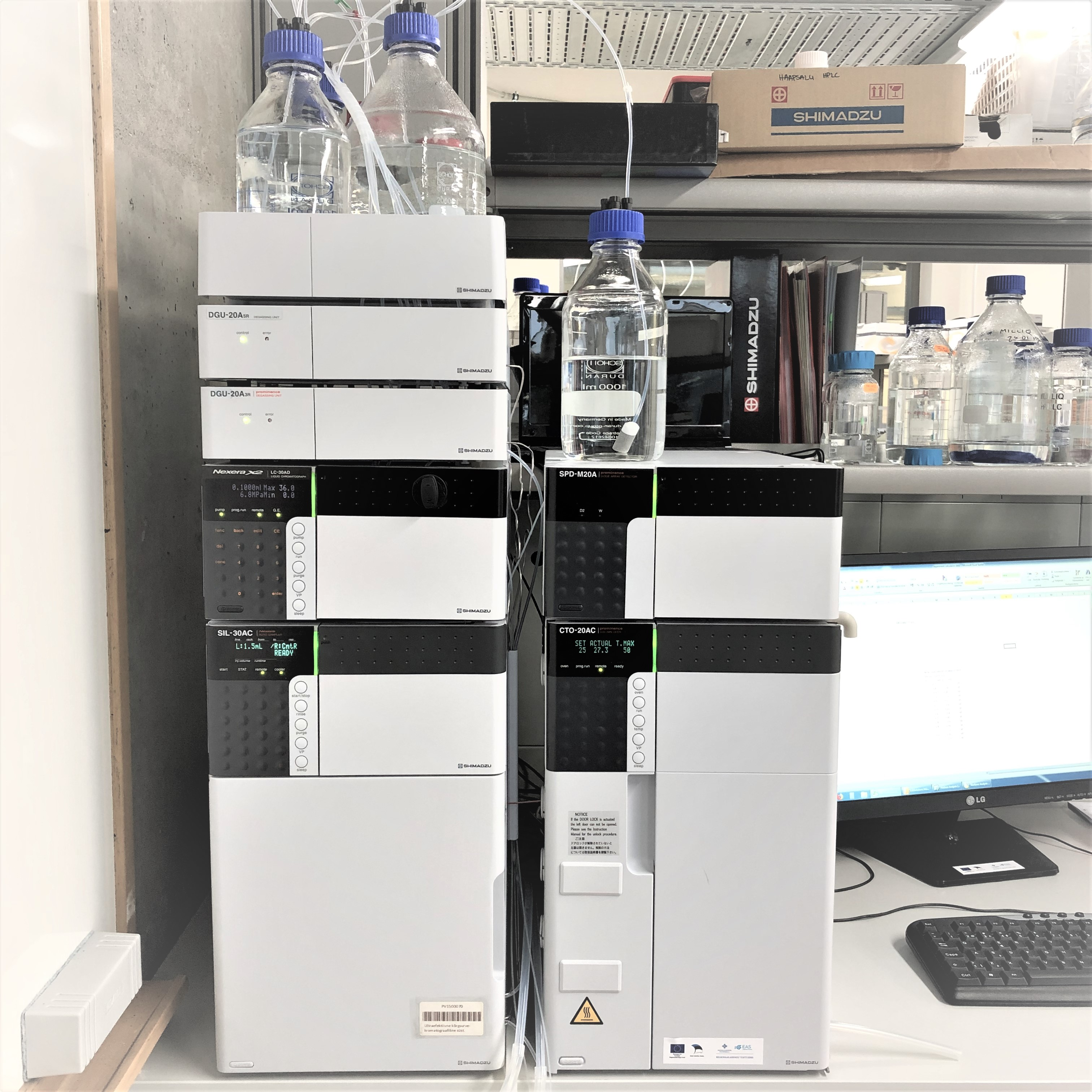 Shimadzu Ultra-High Performance Liquid Chromatography System