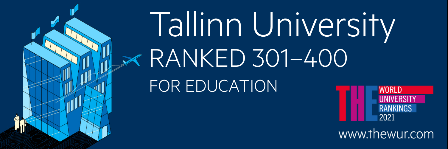 TLU has improved its position in the field of Education in the Times Higher Education World University Rankings, now belonging to the top 301-400 universities in the world.